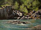 Colliding Rivers by Karen Ilari