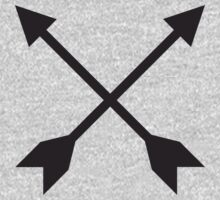 Hipster Crossed Arrows by quarantine81