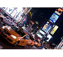Times Square, New York Photographic Print