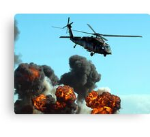 Australian Army Helicopter 3 Canvas Print