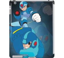 Rockman X and classic Rockman iPad Case/Skin