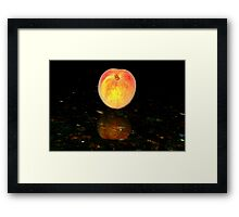 A Sweet Reflection Framed Print