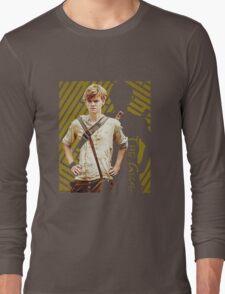 newt AKA the glue the maze runner scorch trials Long Sleeve T-Shirt