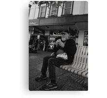 peoplescapes #310, lunch Canvas Print