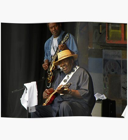 2011 MBBF Magic Slim & The Tear Drops Poster