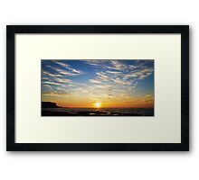 Dusty Trails Framed Print