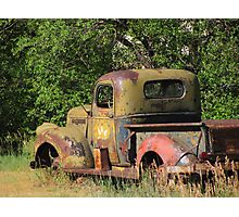 """Old Truck In Small Town Colorado"" Photographic Print"