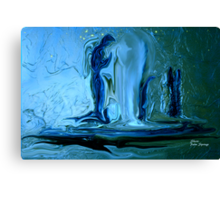 ANGELS OF THE EVENING.......CANCER ANGELS Canvas Print