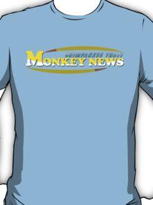 Chimpanzee That! Monkey News T-Shirt