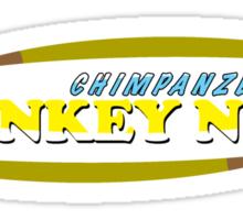 Chimpanzee That! Monkey News Sticker