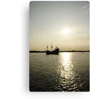 Ye ole Pirate Ship Canvas Print