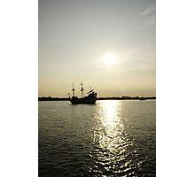 Ye ole Pirate Ship Photographic Print