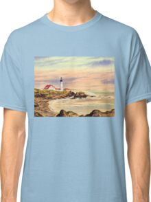 Portland Head Lighthouse Maine Classic T-Shirt