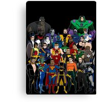 Injustice: A Farewell Canvas Print