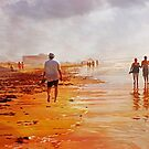 Early Morning on The Beach by Sherryll  Johnson