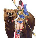 Masha and Bear by Hikaru Yagi