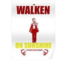 Walken on Sunshine for Cowbell Poster