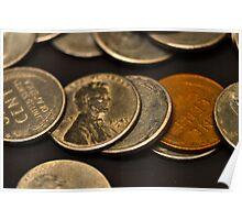 World War II coins Poster