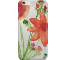 Granny's Flowers iPhone Case/Skin
