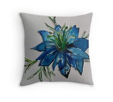 Love-In-The-Mist Throw Pillow