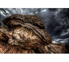 Angry Rock Photographic Print
