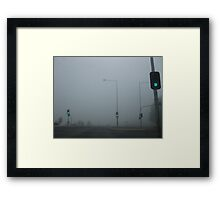 Naked Intersection Framed Print