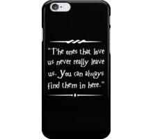 Sirius Black wisdom iPhone Case/Skin