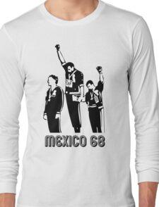 1968 Olympics Black Power Salute V2 Long Sleeve T-Shirt