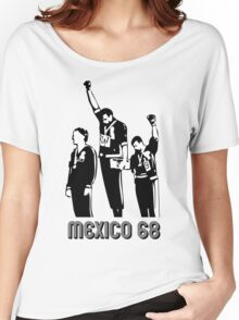 1968 Olympics Black Power Salute V2 Women's Relaxed Fit T-Shirt