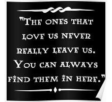 Sirius Black wisdom Poster