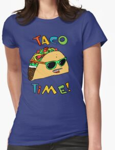 Taco Time Womens Fitted T-Shirt