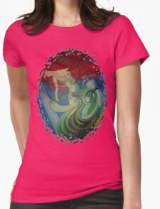 Enchanted Mermaid Womens Fitted T-Shirt