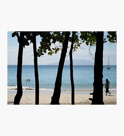 Sequential Beach Photographic Print