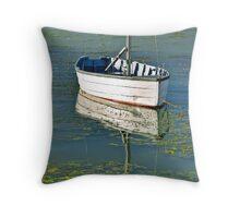 Goolwa marina, Australia Throw Pillow