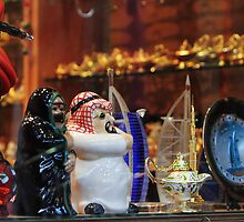 Dubai Souk by Helen Shippey