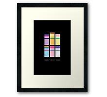 Friendship is Magic - Minimalism Poster Framed Print