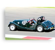 Morgan Plus 8 (Kathy Sherry) Canvas Print