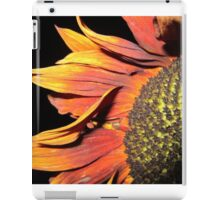Sunflower at night iPad Case/Skin