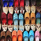 Ladies Arabic Shoes by Helen Shippey