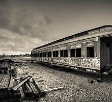 Old Train from yester-year by MarcRusso