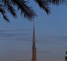 Burj Khalifa by Helen Shippey
