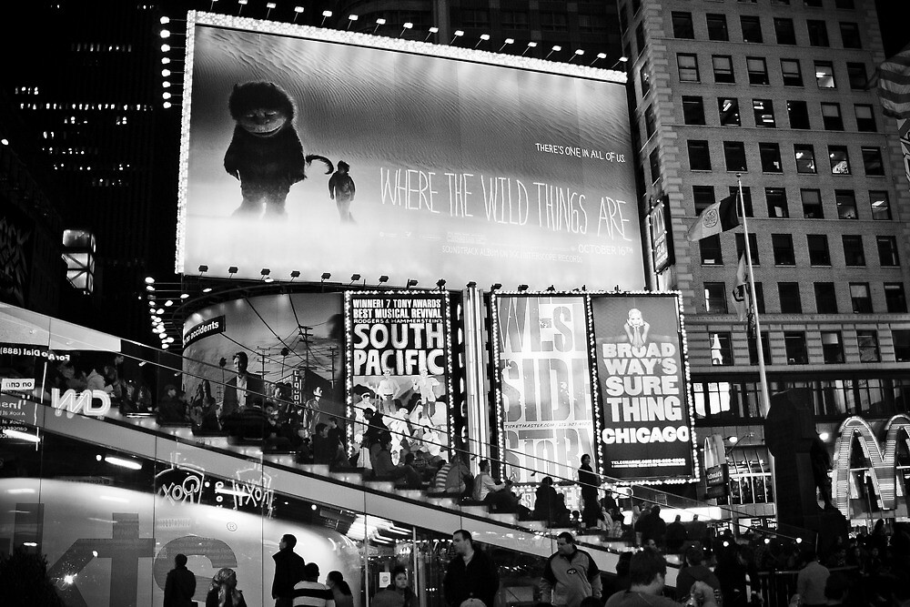 Times Square: where the wild things are by Andrea Rapisarda