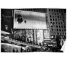 Times Square: where the wild things are Poster