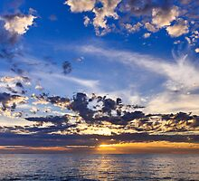 Aussie summer sunset by MarcRusso