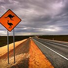 Aussie outback roads by MarcRusso