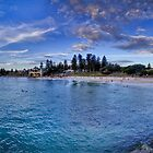Cottesloe beach panorama by MarcRusso