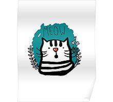 Meow Meow Poster