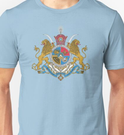 Arms of Iranian Shahs Unisex T-Shirt