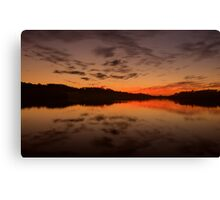 Burn For You - Narrabeen Lakes, Sydney Australia - The HDR Experience Canvas Print