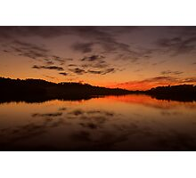 Burn For You - Narrabeen Lakes, Sydney Australia - The HDR Experience Photographic Print